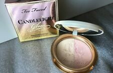 Too Faced Candlelight Glow Highlighting Powder Duo 0.35oz PINK/GLOW AUTHENTIC
