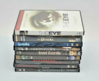 Lot Of 9 Horror Suspense DVD Movies Bundle Pre-Owned Good