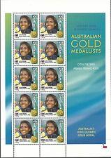 Australia 2000 - Sports Gold Medalists Sydney Olympics Athletics - Sc 1886 MNH
