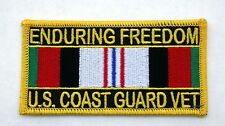 US COAST GUARD OPERATION ENDURING FREEDOM VETERAN PATCH AFGHANISTAN USA MILITARY