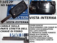 CUBIERTA COVER PARA LLAVE CONTROL REMOTO PEUGEOT 307 207 3 BOTONES SIN PUERTO