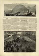 1890 Revolution At Bellinzona Ticino