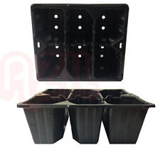 20 x 6 Cell Bedding Plant Pack / Tray - 20cm x 18cm - UK First Class