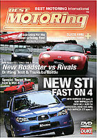 Fast on 4 - newest STI Impreza NEW DVD Gift Idea 2006 Boxster Roadster BONUS