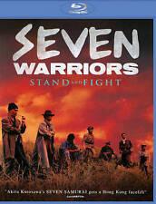 Seven Warriors (Blu-ray Disc, 2014) Adam Cheng, Jacky Cheung, Tony Leung, NEW