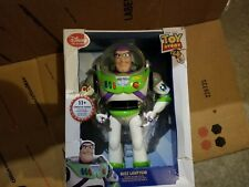 Disney Collection Toy Story 4 Talking Buzz Lightyear Action Figure 12""