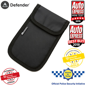 Faraday Key Pouch Bag Car Key Keyless Entry Fob Signal Blocker RFID UK Stock