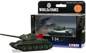 Corgi World of Tanks T34 Diecast Model