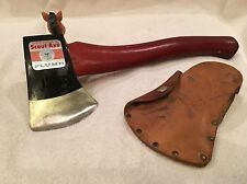 PLUMB~Boy Scout ~Official Scout axe with Sheath~Pristine Original Condition