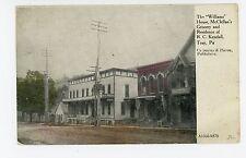 McClellan's Grocery Store—Troy PA Rare Antique—Carpenter & Pierce Pub 1910s