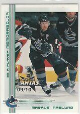 2000-01 BAP Memorabilia NHL All-Star Fantasy Emerald #41 Markus Naslund 9/10