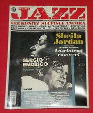 SHEILA JORDAN COVER + CD JAZZ ENDRIGO WILLIAMS FARAO TAYLOR OSBY WINTER MAGAZINE