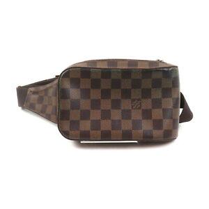 Louis Vuitton LV Waist Pouch Bag N51994 Geronimos Browns Damier 2202569