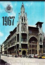 ALMANAQUE 1967. Calendario Caja de Pensiones de Cataluña y Baleares.