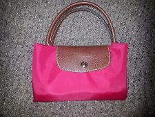 LONGCHAMP PARIS-Le Pliage Type M-Modele Depose-RED-NWOT-AUTHENTICITY GUARANTEED