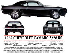 Z-28 / RS CHEVROLET CAMARO LONG SLEEVE