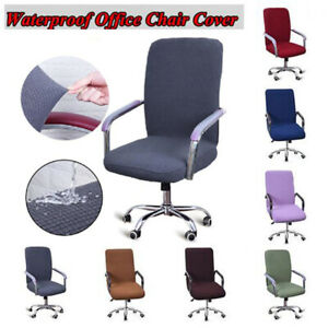 Spandex Elastic Stretch Cover for Computer Office Rotating Chair Case Slipcover