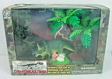 Jasman - Triceratops Dinosaur Diorama With Nest,Etc. - Brand-New