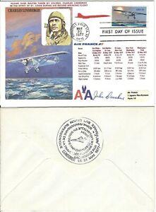 50th Anniversary Solo Transatlantic Flight 1977 *SIGNED* Event Cover