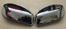 CHROME DOOR WING MIRROR COVERS RANGE ROVER SPORT 05-09 DISCOVERY 3 FREELANDER 2