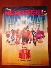 Disney Newsreel Wreck-It Ralph & Sofia November 2, 2012 New