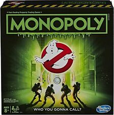 Hasbro Gaming - Monopoly Ghostbusters [New ] Table Top Game, Board Game