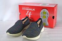 Women's  Skechers 14922/NVMT Go Walk 4- Select Slip on Shoes  Navy/Multi