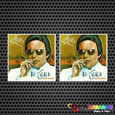 2x HECTOR LAVOE LP COVER VINYL CAR STICKERS DECALS