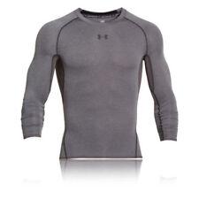 Abbiglimento sportivo da uomo grigio a compressione taglia M
