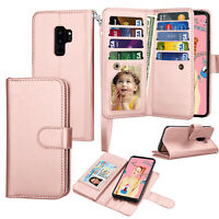 For Samsung Galaxy S9 / S9 Plus Phone Case Wallet Flip PU Leather Pocket Cover