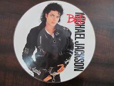 Michael Jackson LP - Bad - 1987 Original UK Picture Disc
