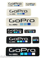9pcs/lot GoPro Self Adhesive icon Stickers For Gopro HD HERO Accessories Store