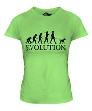 American Pit Bull Terrier Evolution Of Man Ladies T-Shirt Tee Top Gift