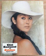 Aushangbild* CALAHAN Dirty Harry II Clint Eastwood Magnum Force 1973