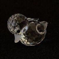RARE Retired Swarovski Crystal Mini Duck Swimming 012531 Mint Boxed Duckling