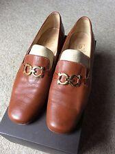 Designer Women's Italian Leather Shoe: DROMY CLASSIC Size 40