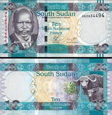 SUD-SUDAN South-Sudan - 10 pounds 2011 FDS - UNC