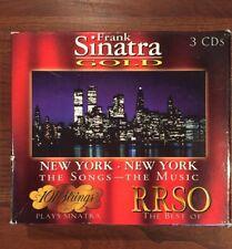 3 CD Box Set-Frank Sinatra Gold, 101 Strings & Best of RRSO, 1998