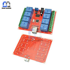 12v 8 Channel Usb Relay Switch Controller Module Computer Smart Controller
