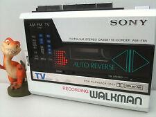 Sony Wm-F85 Radio Cassette-Corder/Player Walkman Kassettenspieler white pearl