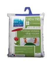Protège-matelas et alèses lavable en machine coton mélangé pour le lit, pour chambre
