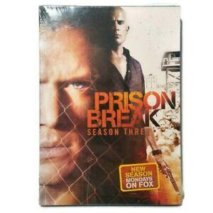 Prison Break Season Three DVD Four Disc Edition New Sealed Factory Shrinkwrapped