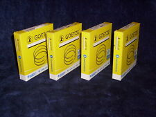 4x Goetze Piston Rings Coated Audi VW 1,9L Tdi Sdi Td 1Z AFN Bxe Aaz