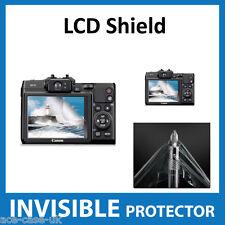 Canon Powershot G16 Cámara INVISIBLE Lcd Protector de pantalla