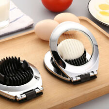 2 In 1 Stainless Steel Egg Slicer Eggs Cutting Slices and Wedges Egg Fruit TOYB