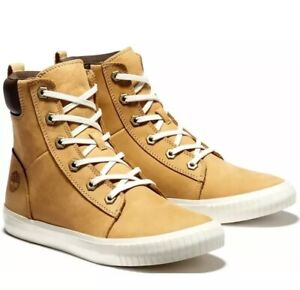 Timberland Women's Skyla Bay 6-Inch Boots, Wheat Nubuck A2C3S - SIZE 9