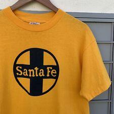 New listing True Vintage Santa Fe New Mexico T Shirt 80s Tourist Single Stitch Usa Made Sz L