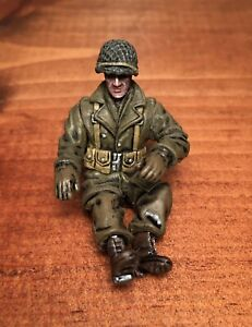 RARE Forces Of Valor Unimax 1:32 US Willys Jeep Halftrack Driver Figure