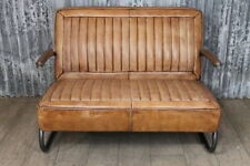 Leather Reproduction Antique Sofas/Chaises