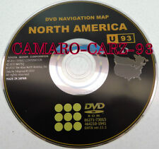Toyota GEN6 Navigation DVD U.S Canada U92 Map For 2010 2011 2012 Sequoia Tundra